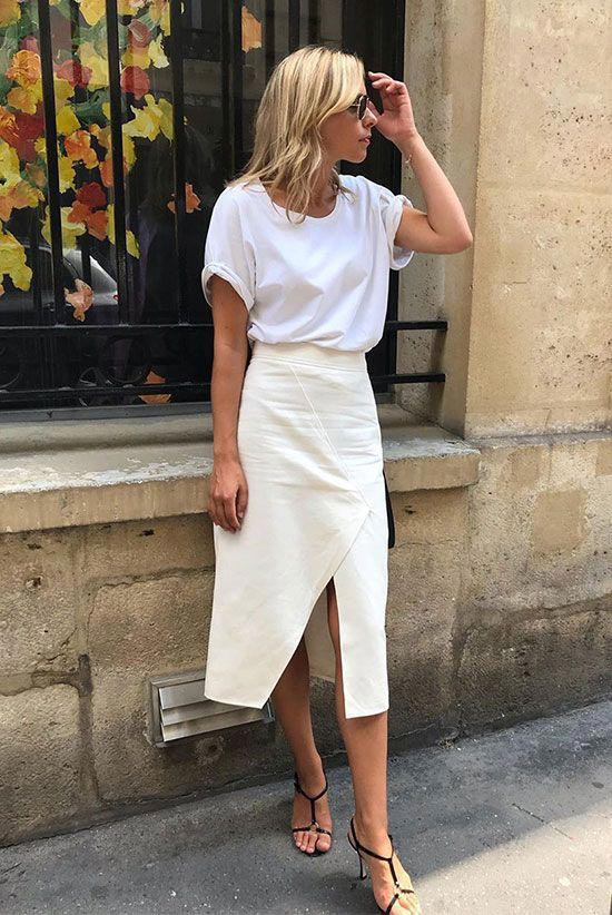 black sandals white tshirt casual outfit